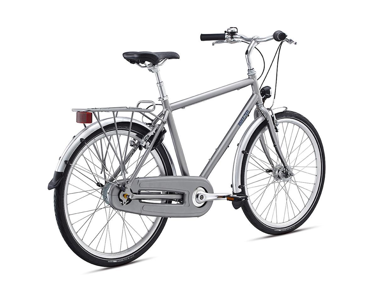 Breezer Uptown 8 Commuter Bike - 2017 (Grey) (17.5)
