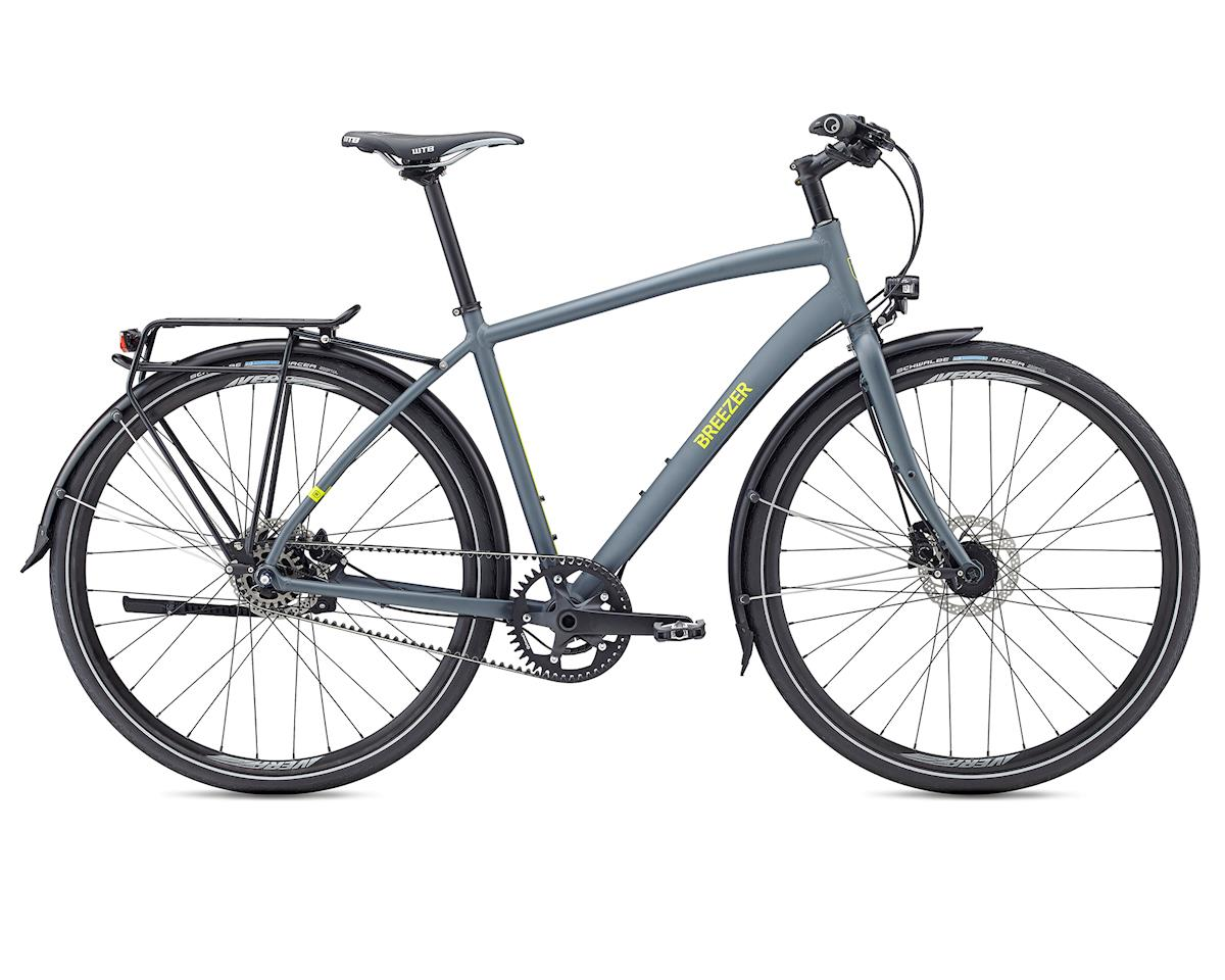 Breezer 2017 Beltway 8+ Commuter Bike (Satin Grey) (L)