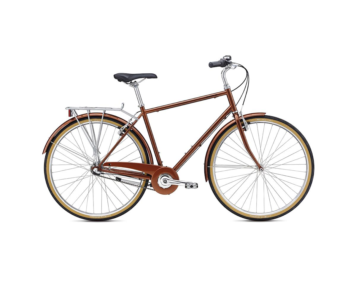 Breezer Downtown 3 City Bike -- 2017 (Brown)