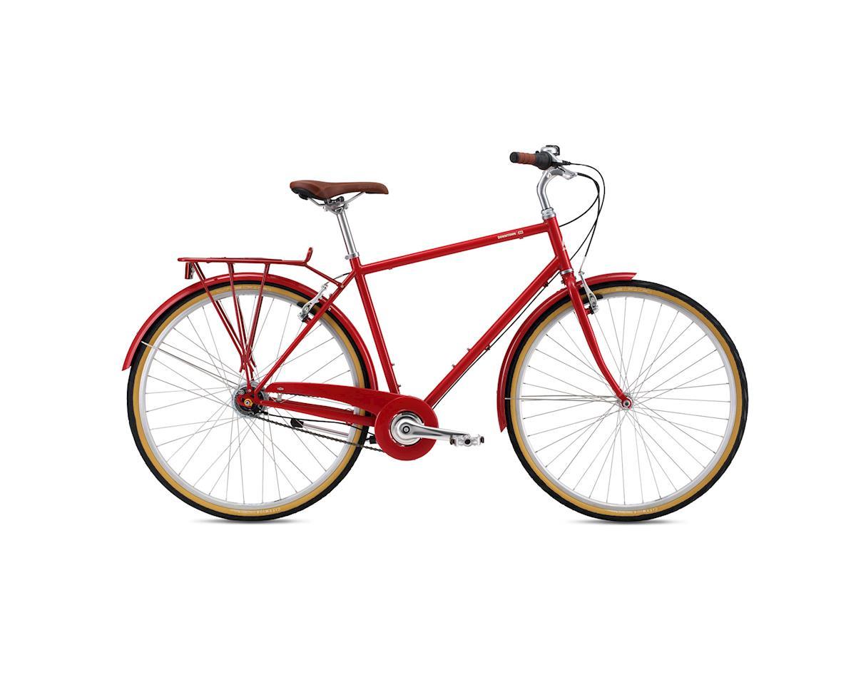 Breezer Downtown 8 City Bike - 2016 (Red) (Xlarge)