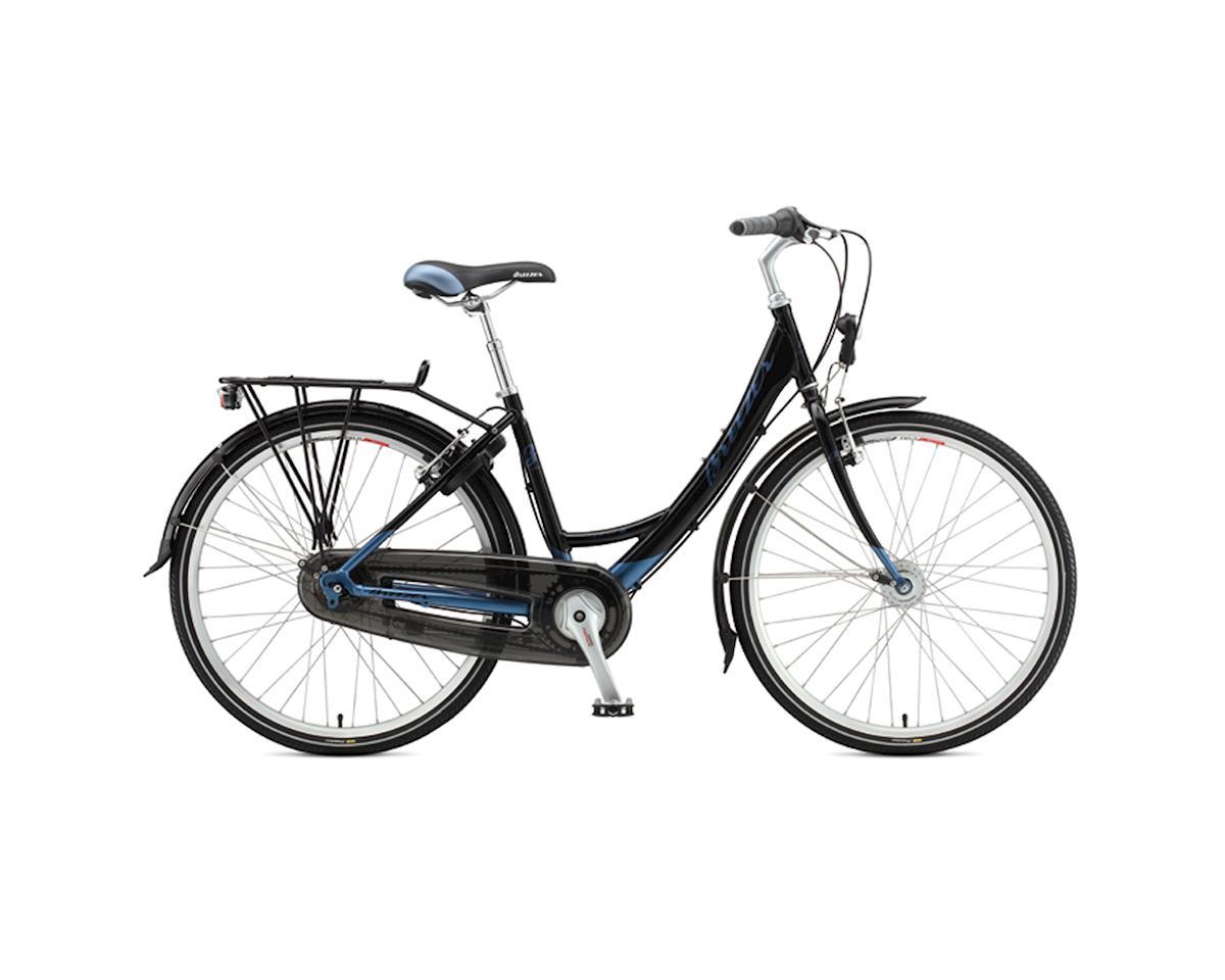 Breezer Uptown 8 Women's LS City Bike -- 2011 (Black/Blue) (Xsmall)