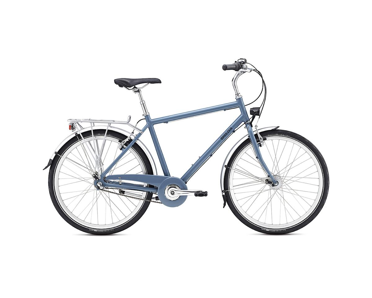 Breezer Uptown 3 City Bike -- 2017 (Blue/Black) (17.5)