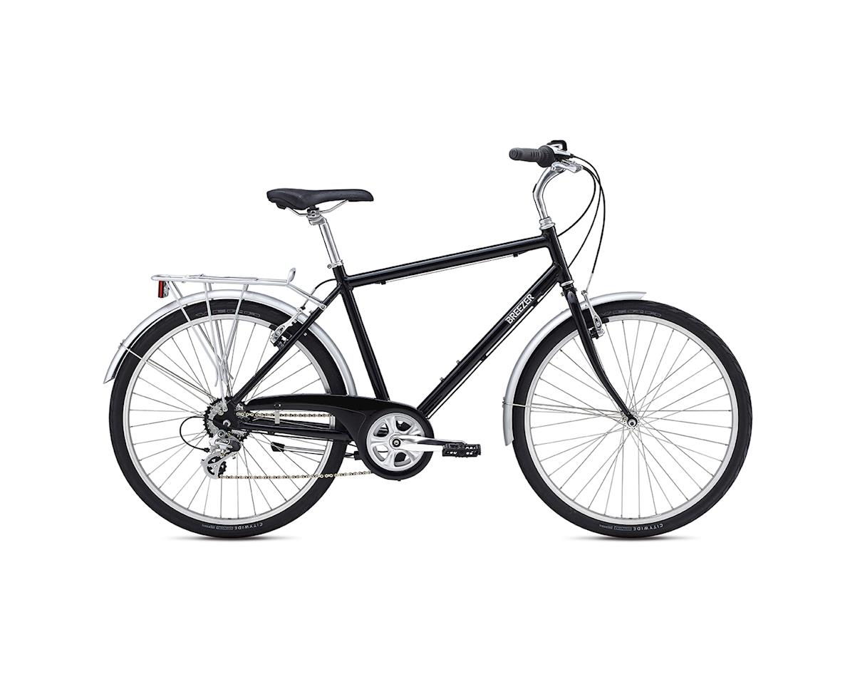 Breezer Uptown EX City Bike -- 2017 (Black) (17.5)
