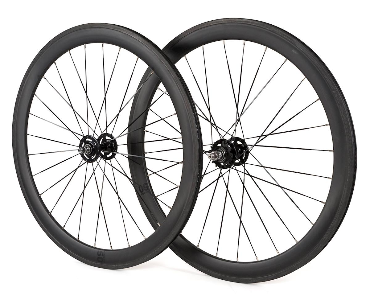Brick Lane Bikes Notorious Carbon Track Wheelset (50mm) (28h)