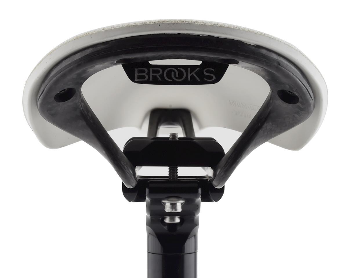 Brooks C13 Cambium 145 All Weather Saddle (White)