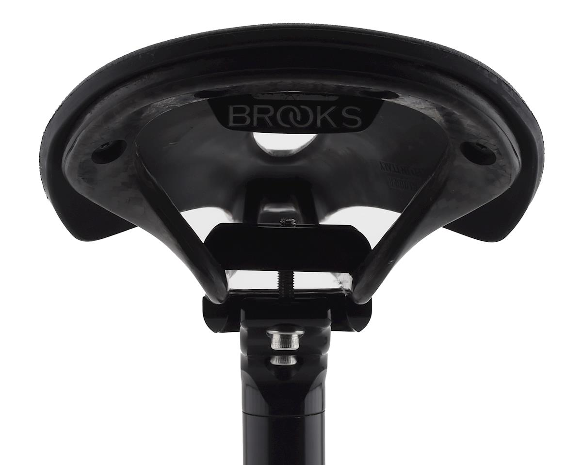 Brooks C13 Cambium Carved 145 All Weather Saddle (Black)