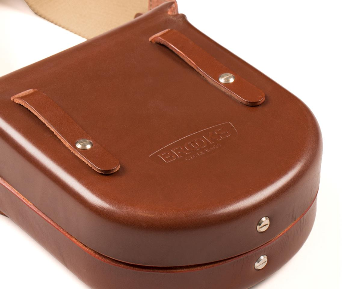 Brooks B1 Small Moulded Saddle Bag (Antique Brown)