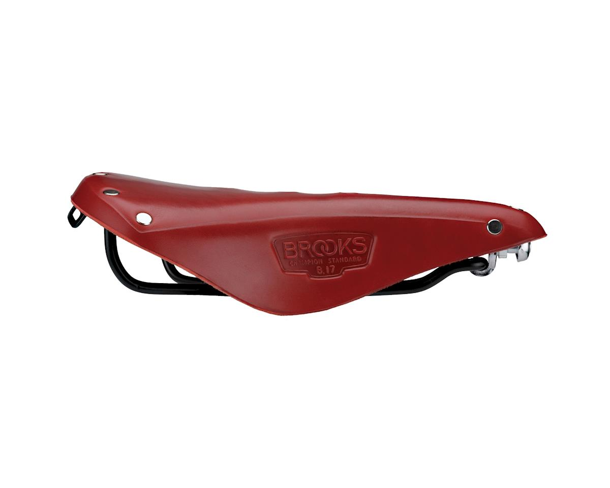 Image 5 for Brooks B17 Saddle (Red)