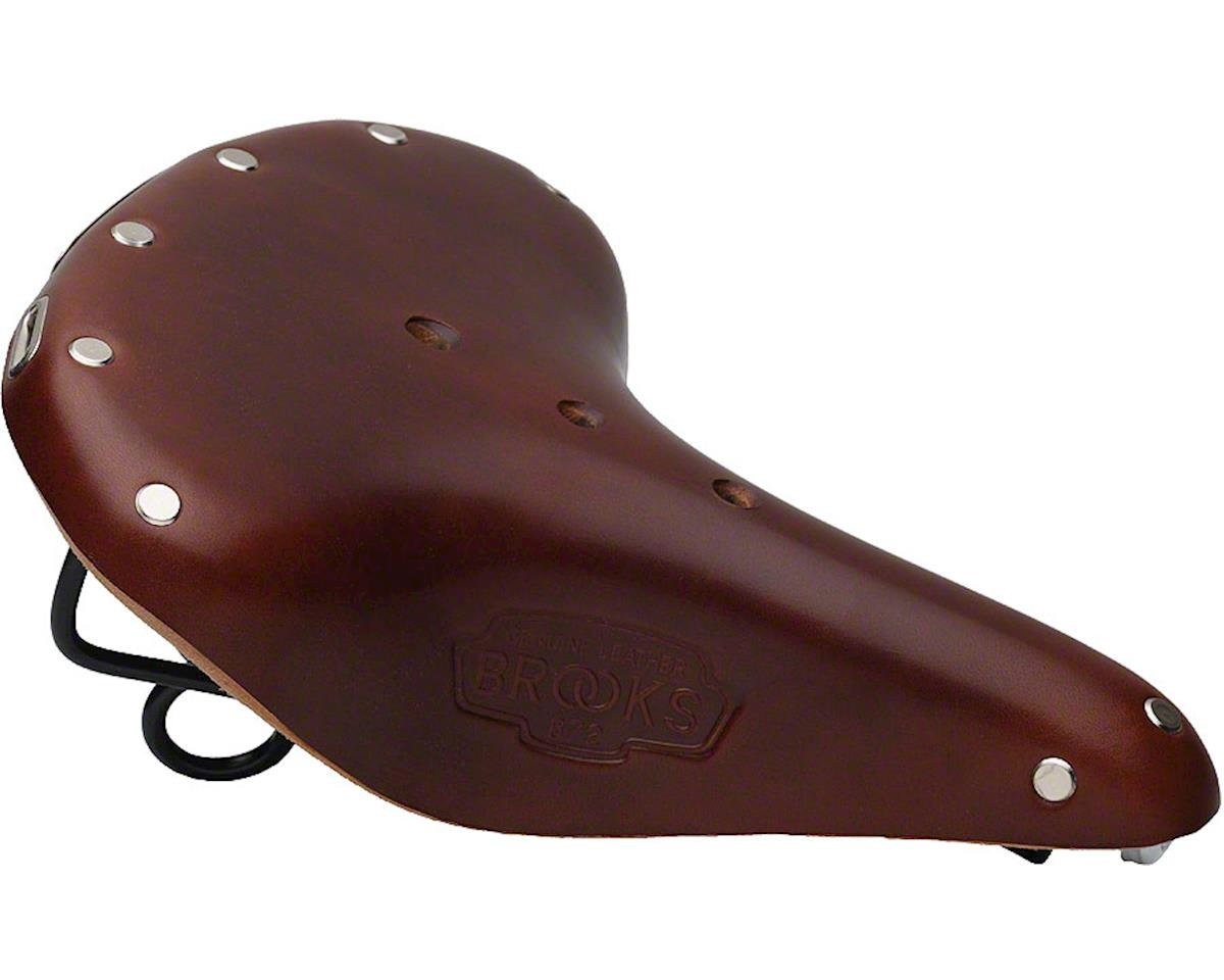 Brooks B72 Unisex Saddle (Brown)