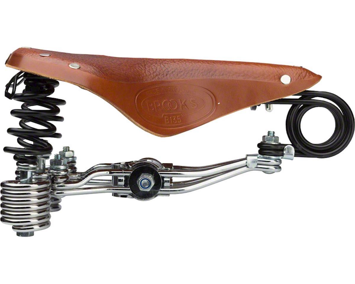 Brooks B135 Unisex Saddle (Honey)