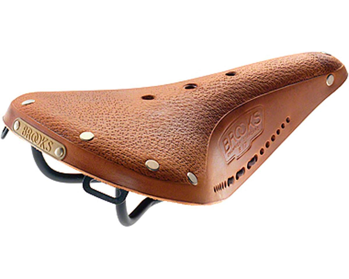 Brooks B17 Pre-Aged Men's Saddle (Tan)