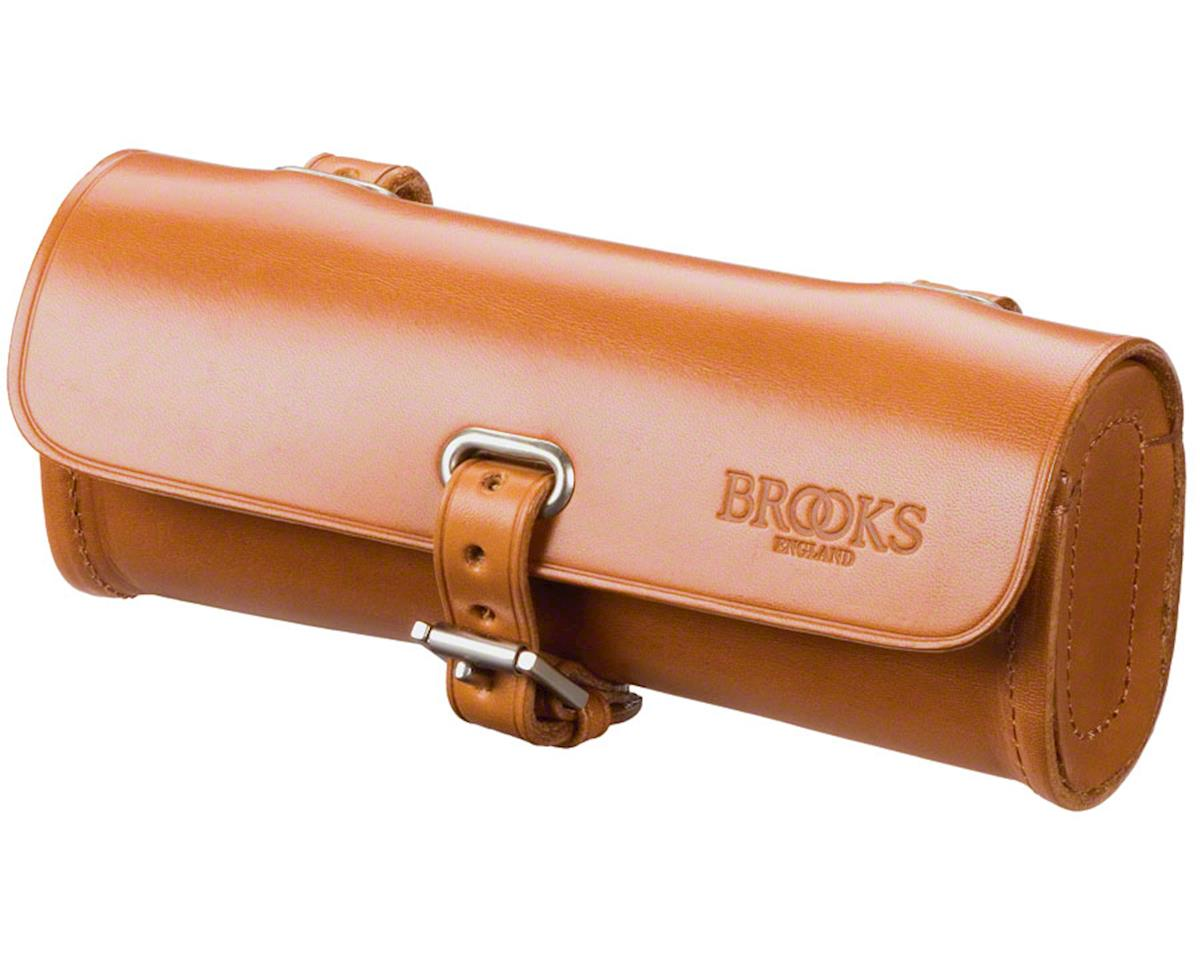 Brooks Challenge Tool Seat Bag: Honey Leather