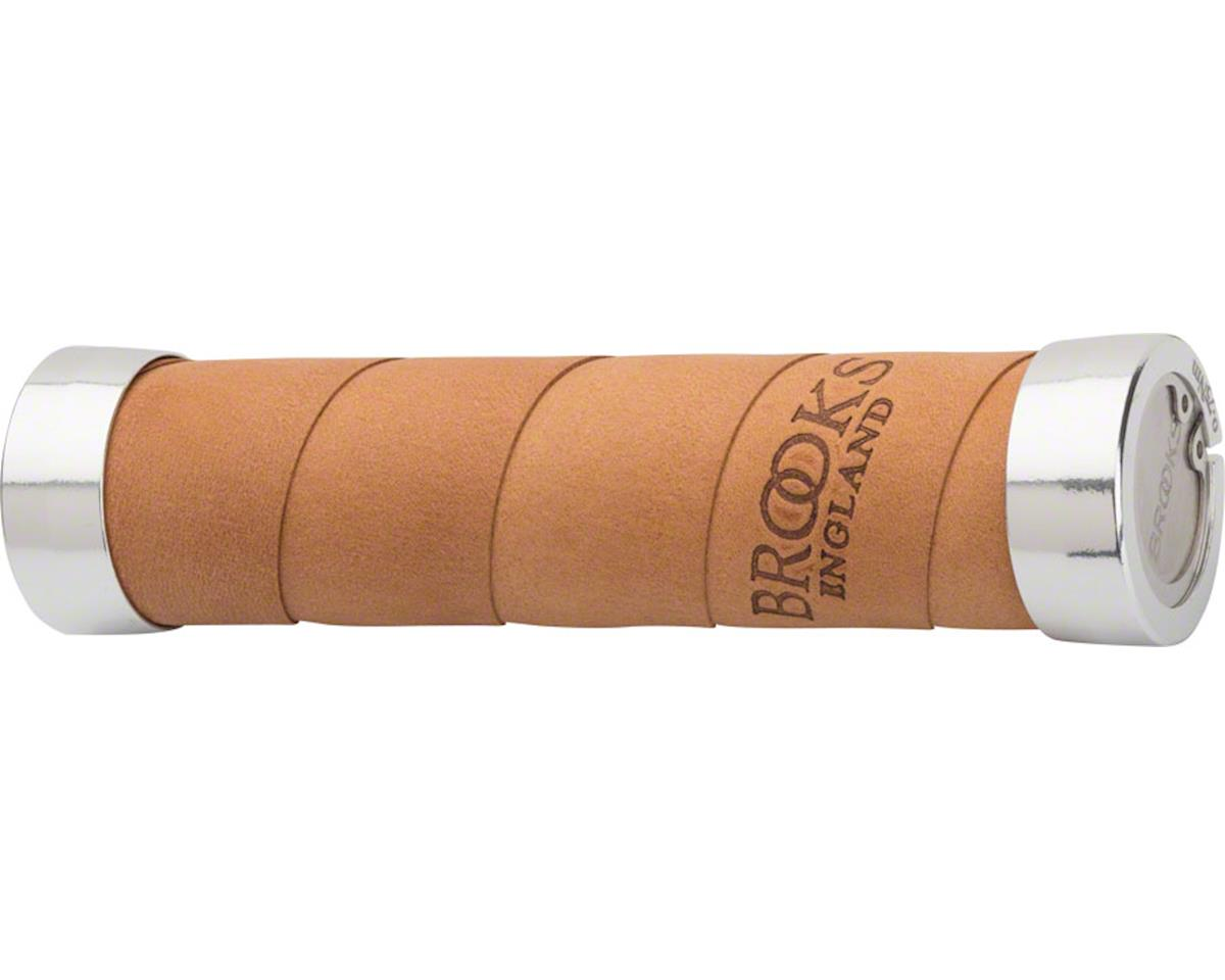 Brooks Slender Leather Grips (Aged Leather)