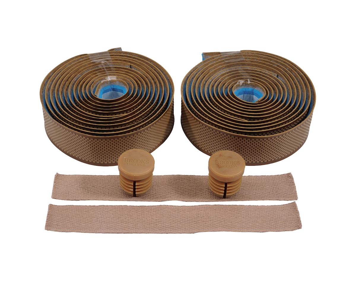 Brooks Cambium Rubber Handlebar Tape (Tan Rubber)