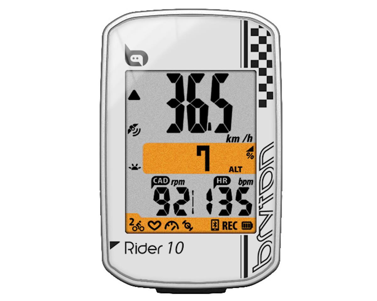 Rider 10E GPS, white