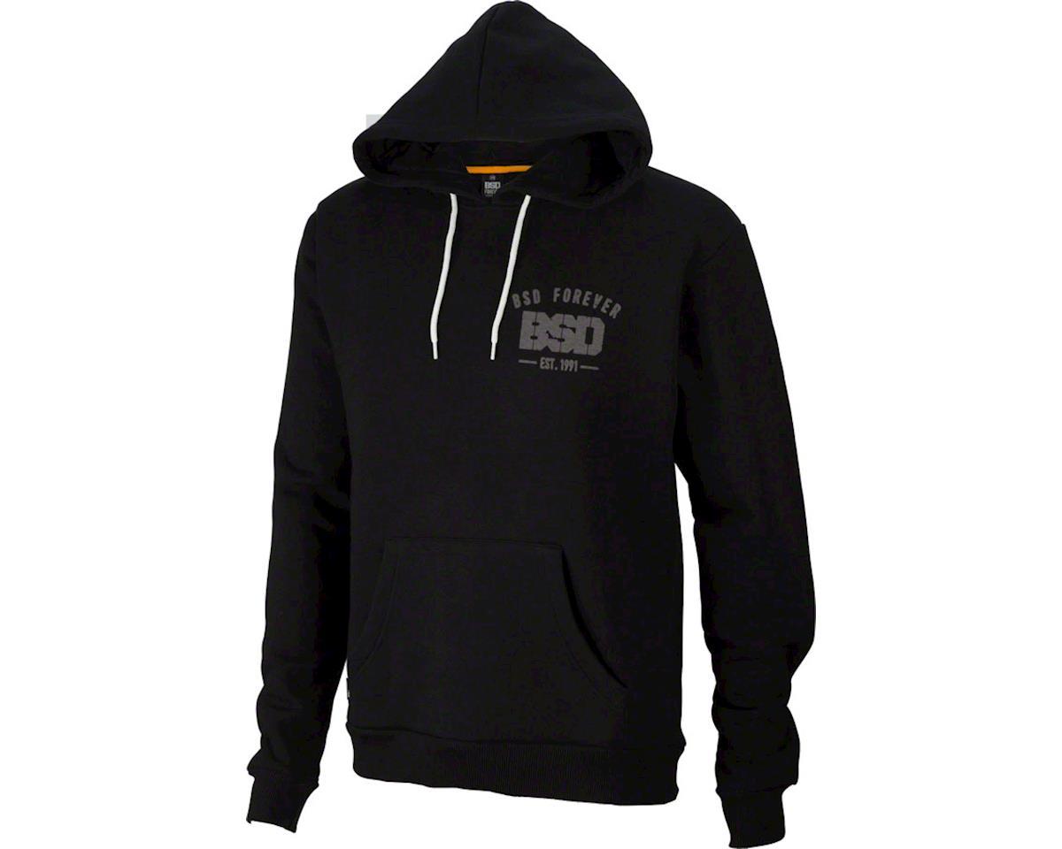 BSD Established Hoodie: Black, SM (L)