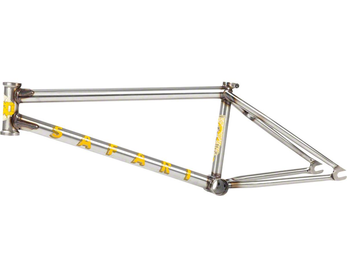 BSD Safari Frame 21.4 Clear Coat Raw [FRM173] - AMain Cycling