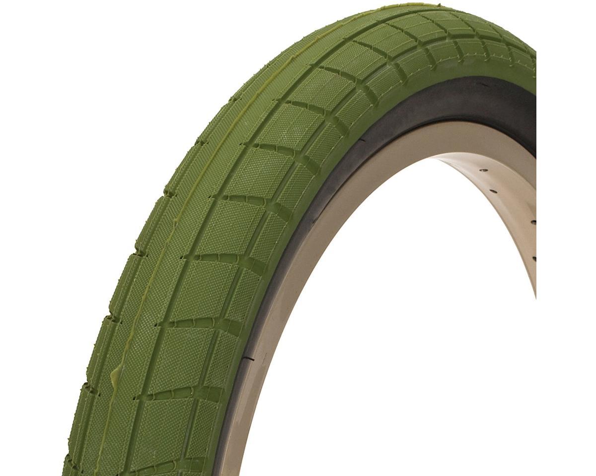BSD Donnasqueak Tire - 20 x 2.4, Clincher, Wire, Surplus Green