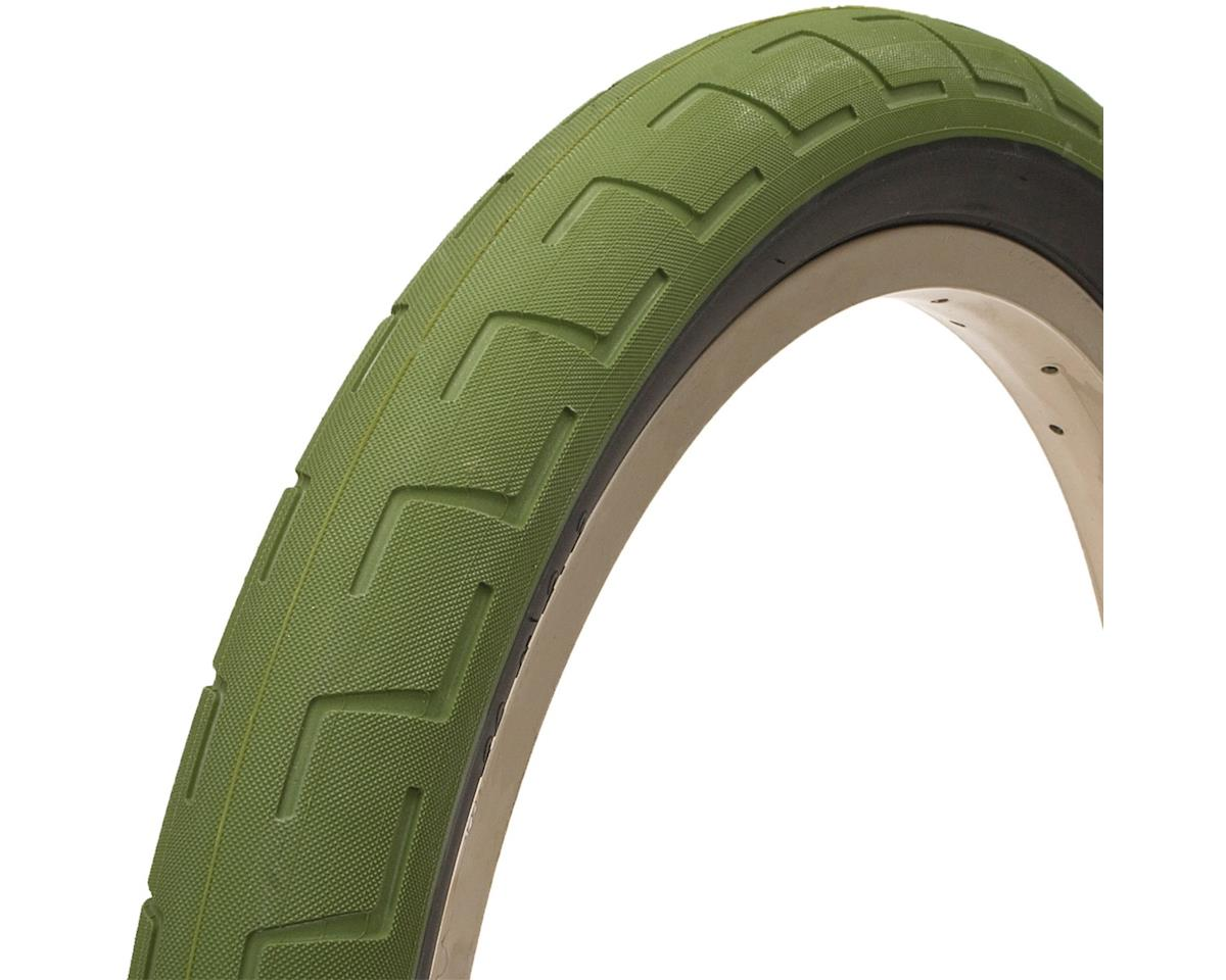BSD Donnastreet Tire - 20 x 2.4, Clincher, Wire, Surplus Green