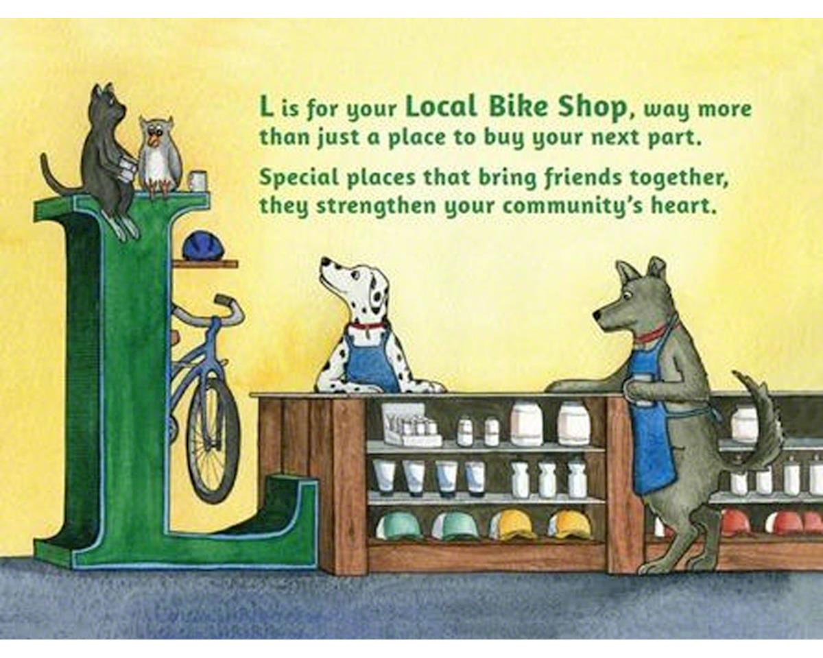 Buddy Pegs Llc B is for Bicycles: Children's Alphabet Book