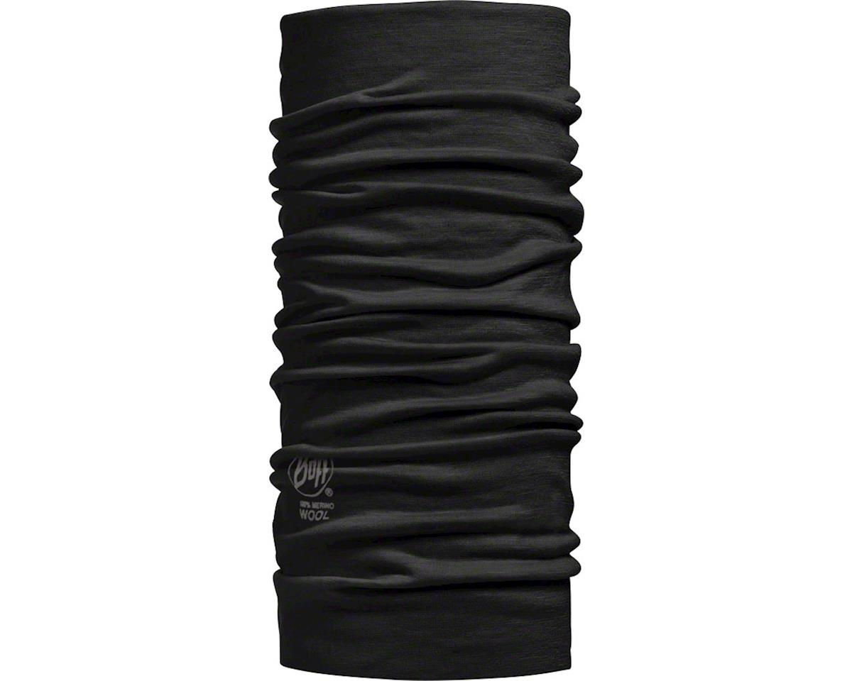 Buff Merino Wool Buff: Black, One Size