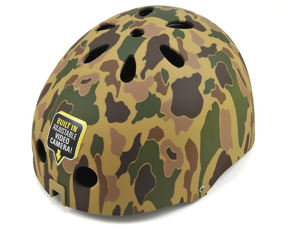 Bult Videohead X3 Helmet with Built in Camera (Desert Camo)