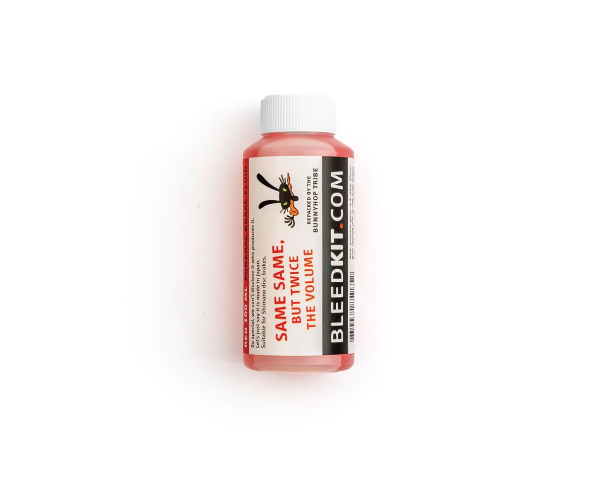 BunnyHop Tribe Mineral Oil Brake Fluid (Red) (Shimano) (100ml)