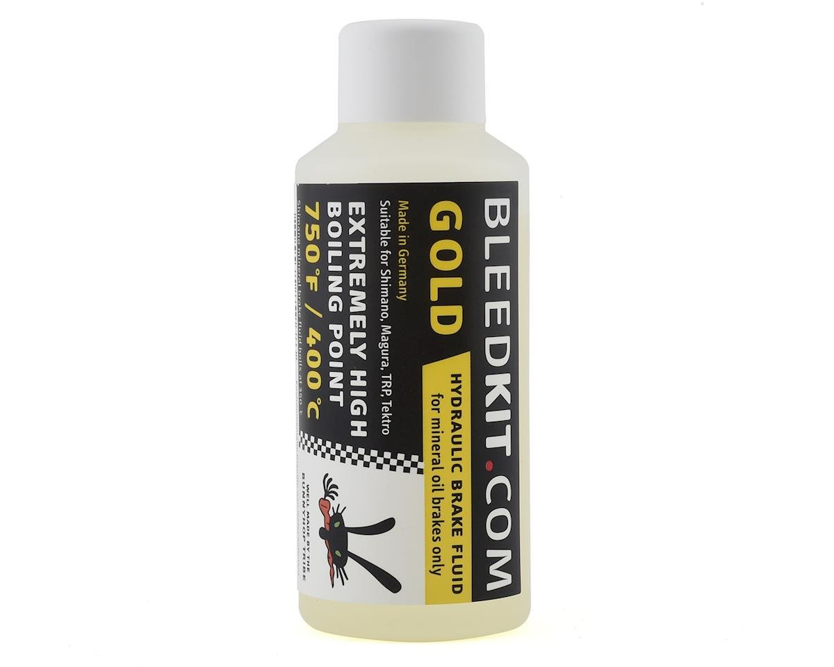 BunnyHop Tribe Mineral Oil Brake Fluid (Gold) (Shimano) (100ml)