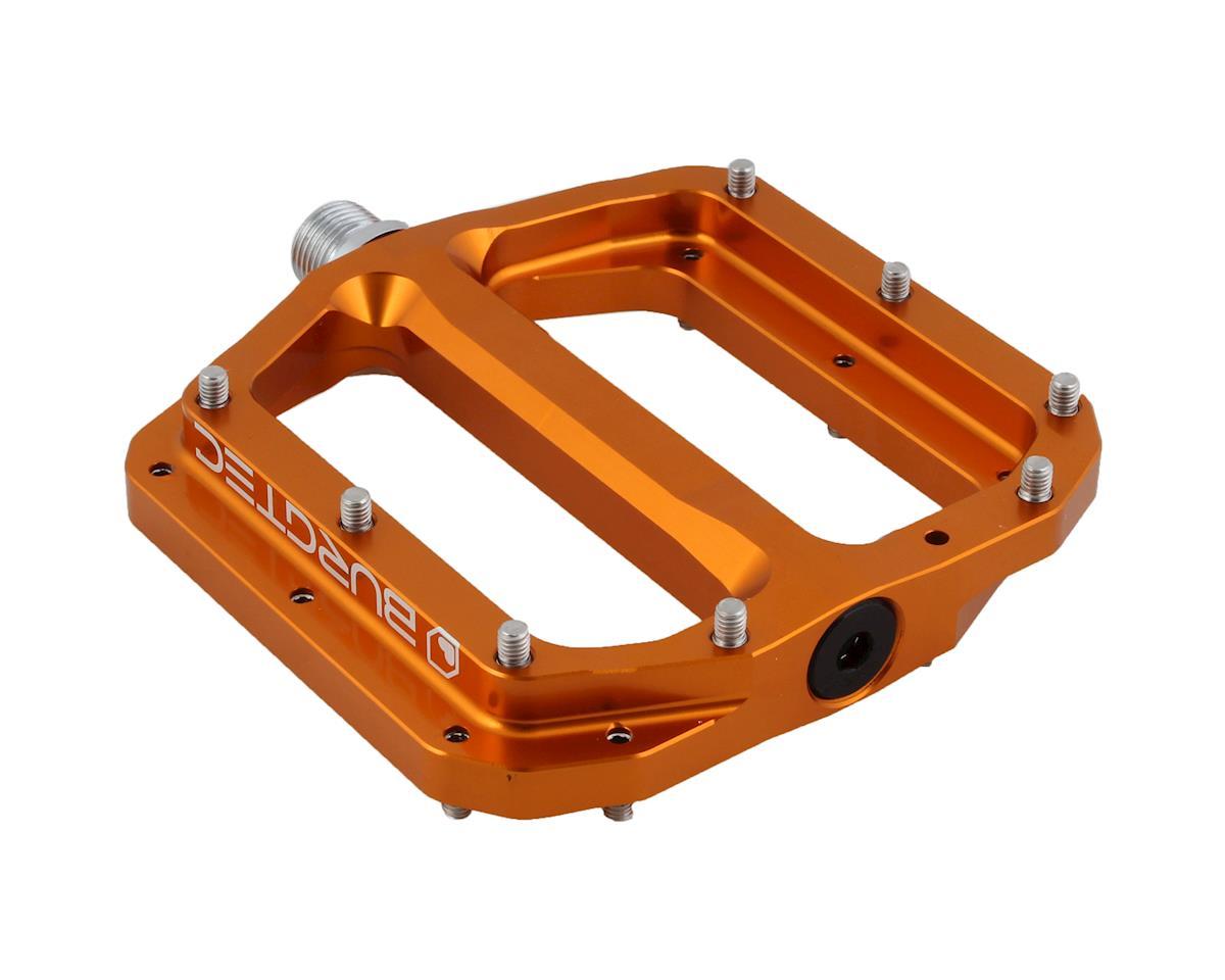 Burgtec Penthouse MK4 pedals, CrMo - Iron Bro Orange