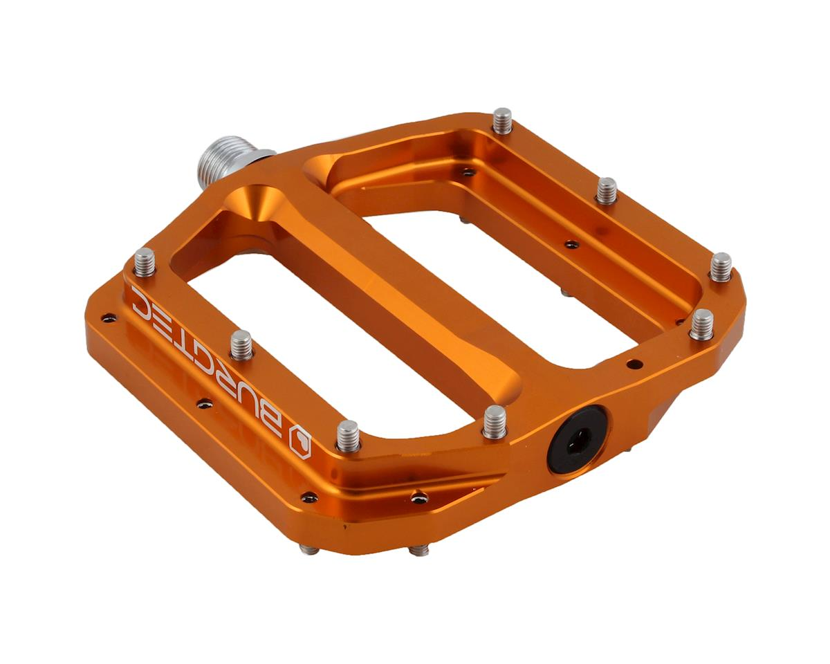 Burgtec Penthouse MK4 pedals, CrMo - Iron Bro Orange