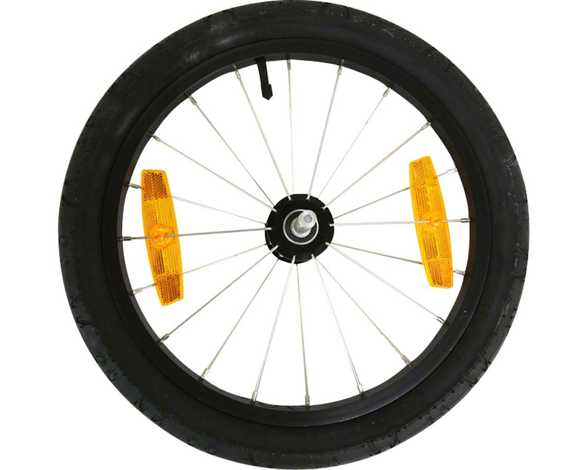 "Replacement Wheel: 16"", Alloy, Push Button Axle"