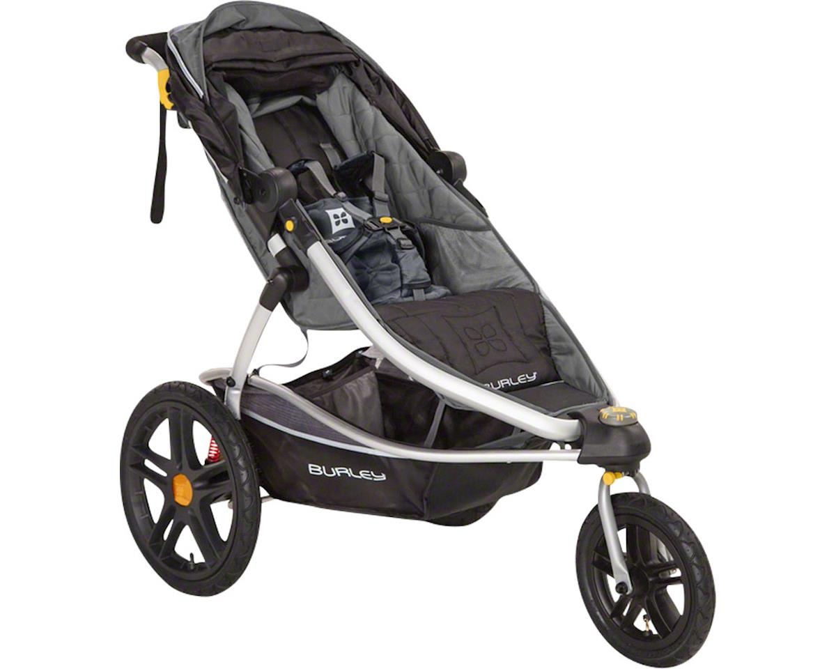 Burley Solstice Stroller: Black and Gray