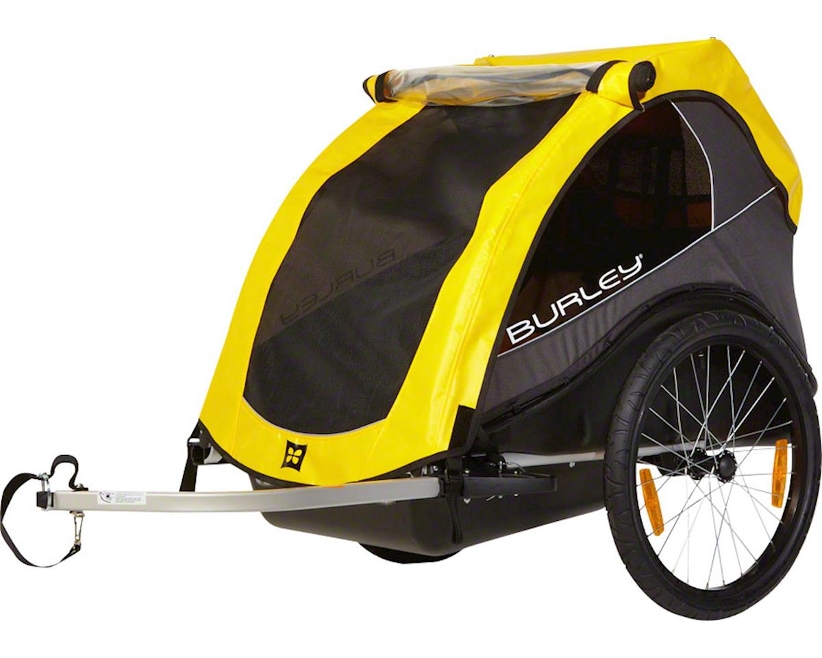 Burley Rental Cub Child Trailer: Yellow