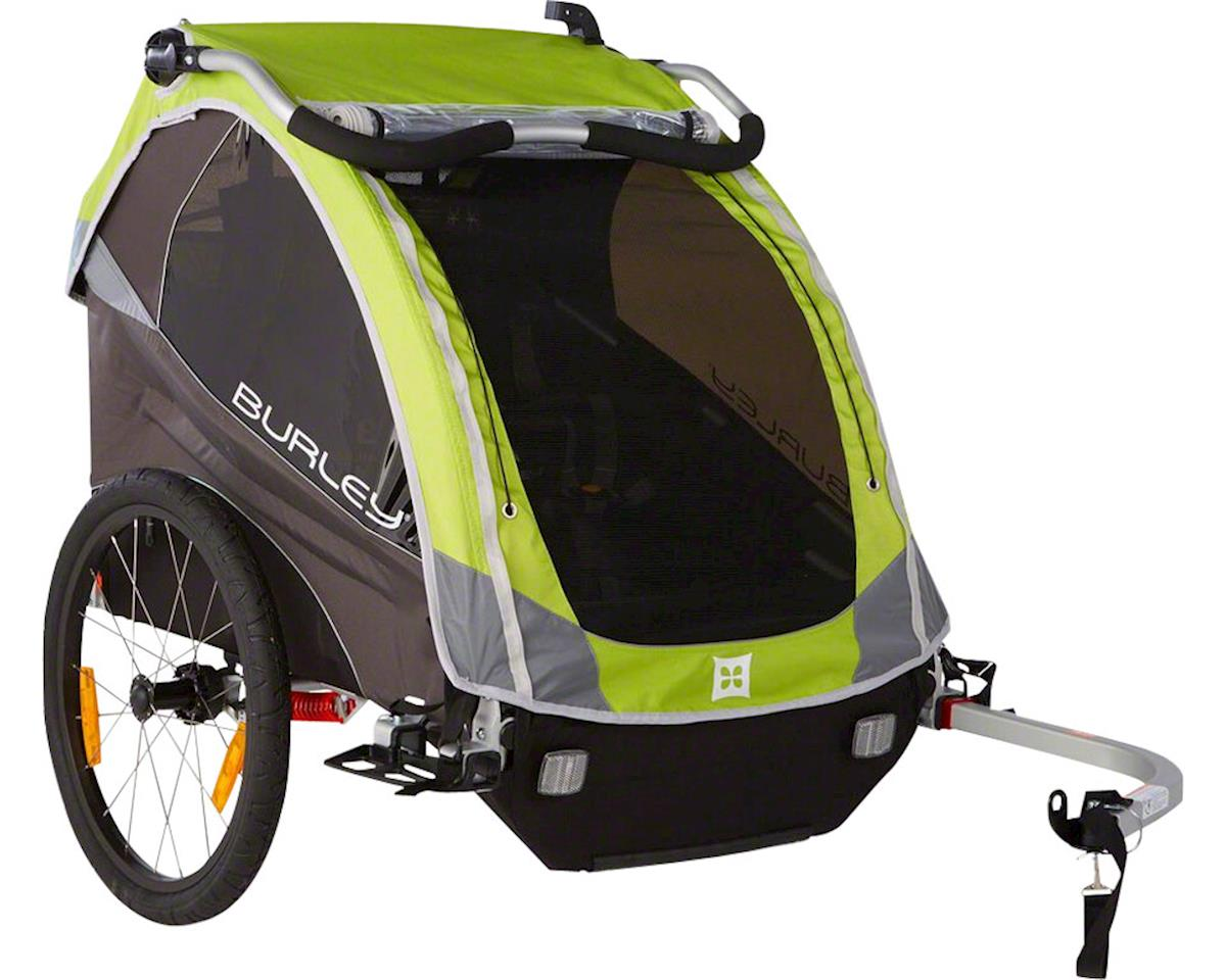Burley D'Lite Child Trailer: Green