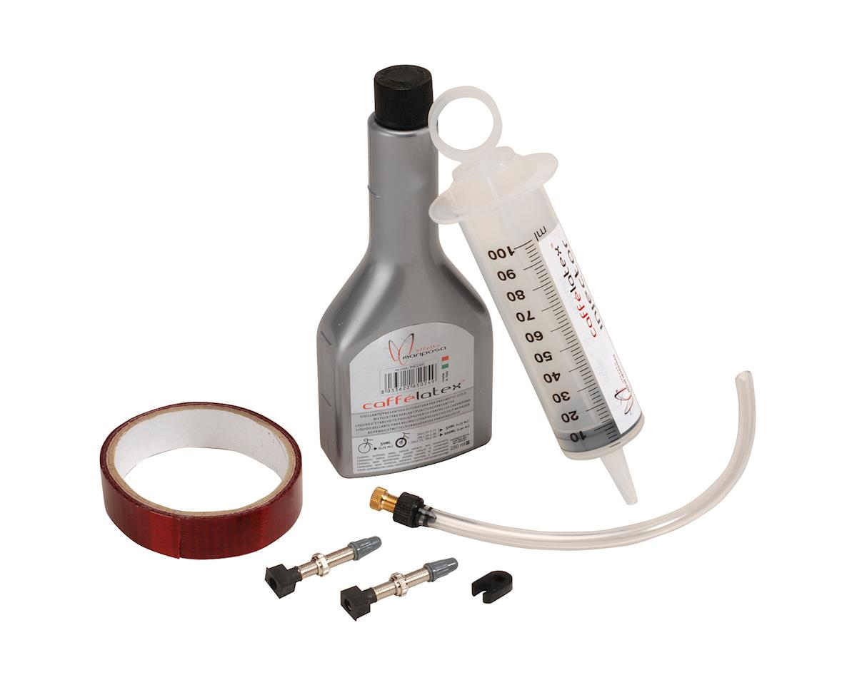 Effetto Mariposa  Tubeless Kit 25mm Tape Md, 250ml Sealant, injector,