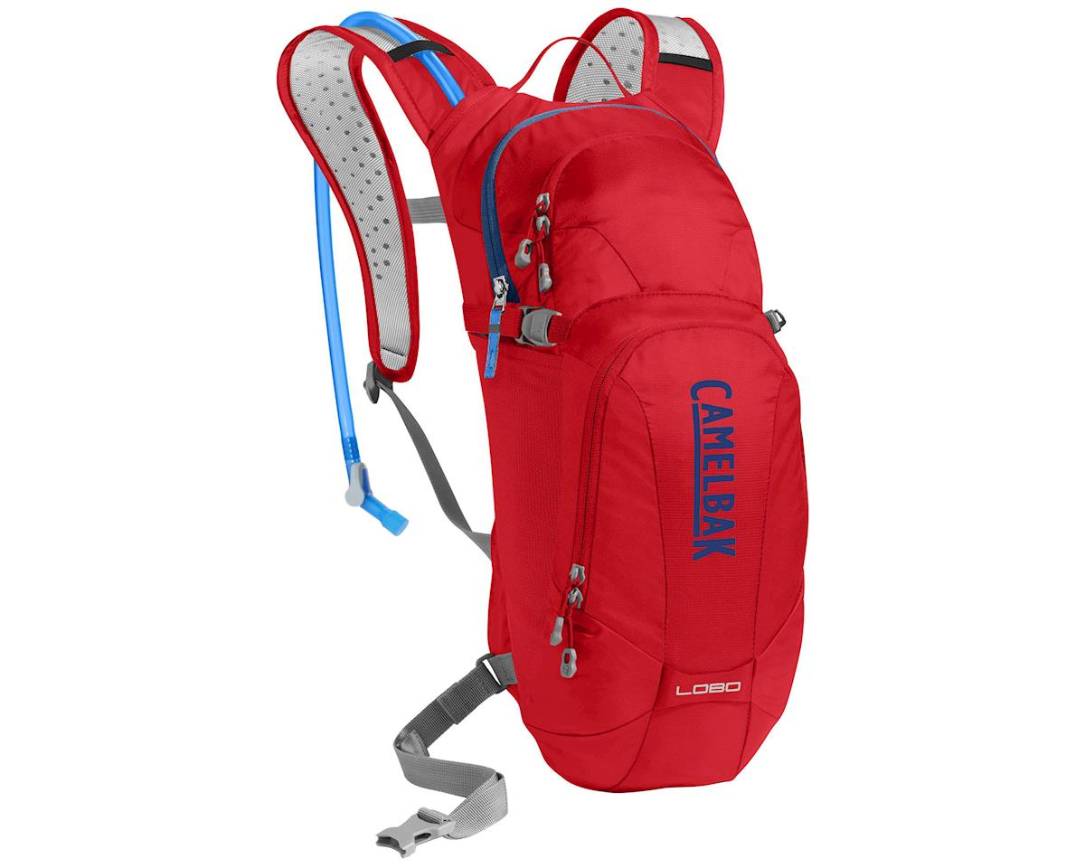 Camelbak Lobo Hydration Pack (100oz) (Racing Red/Pitch Blue)