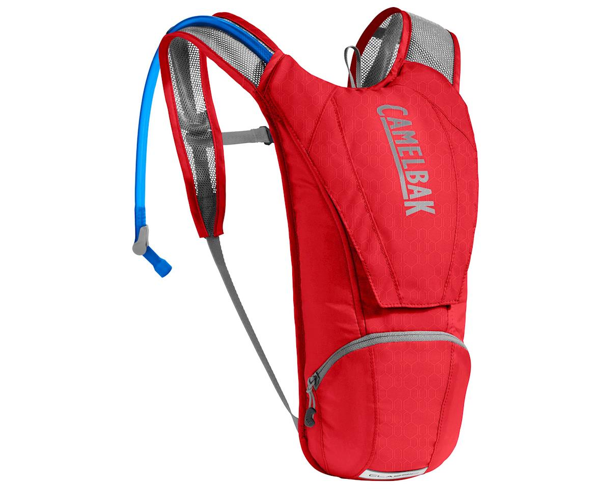 Camelbak Classic Hydration Pack (85oz) (Racing Red/Silver)