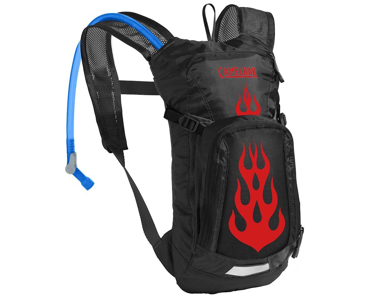 Camelbak Mini M.U.L.E. Hyration Pack (50oz) (Black/Flames)