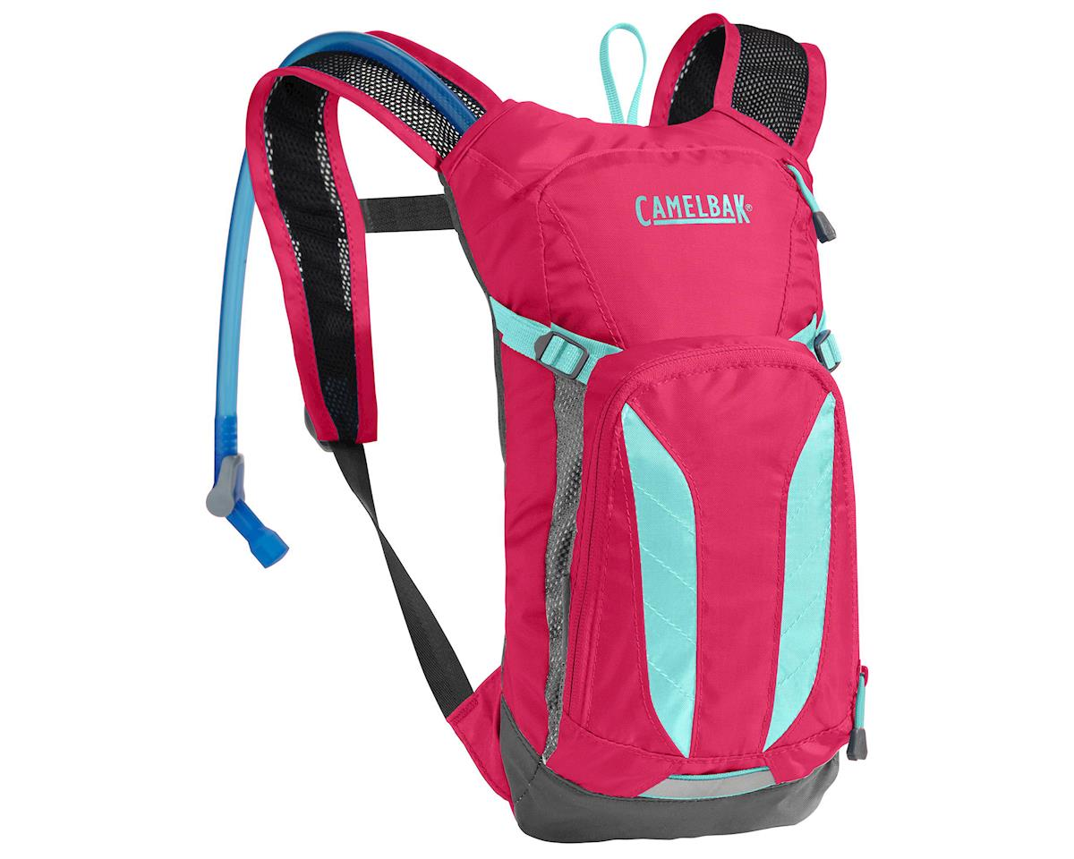 Camelbak Mini M.U.L.E. Hyration Pack (50oz) (Azalea/Aruba Blue)