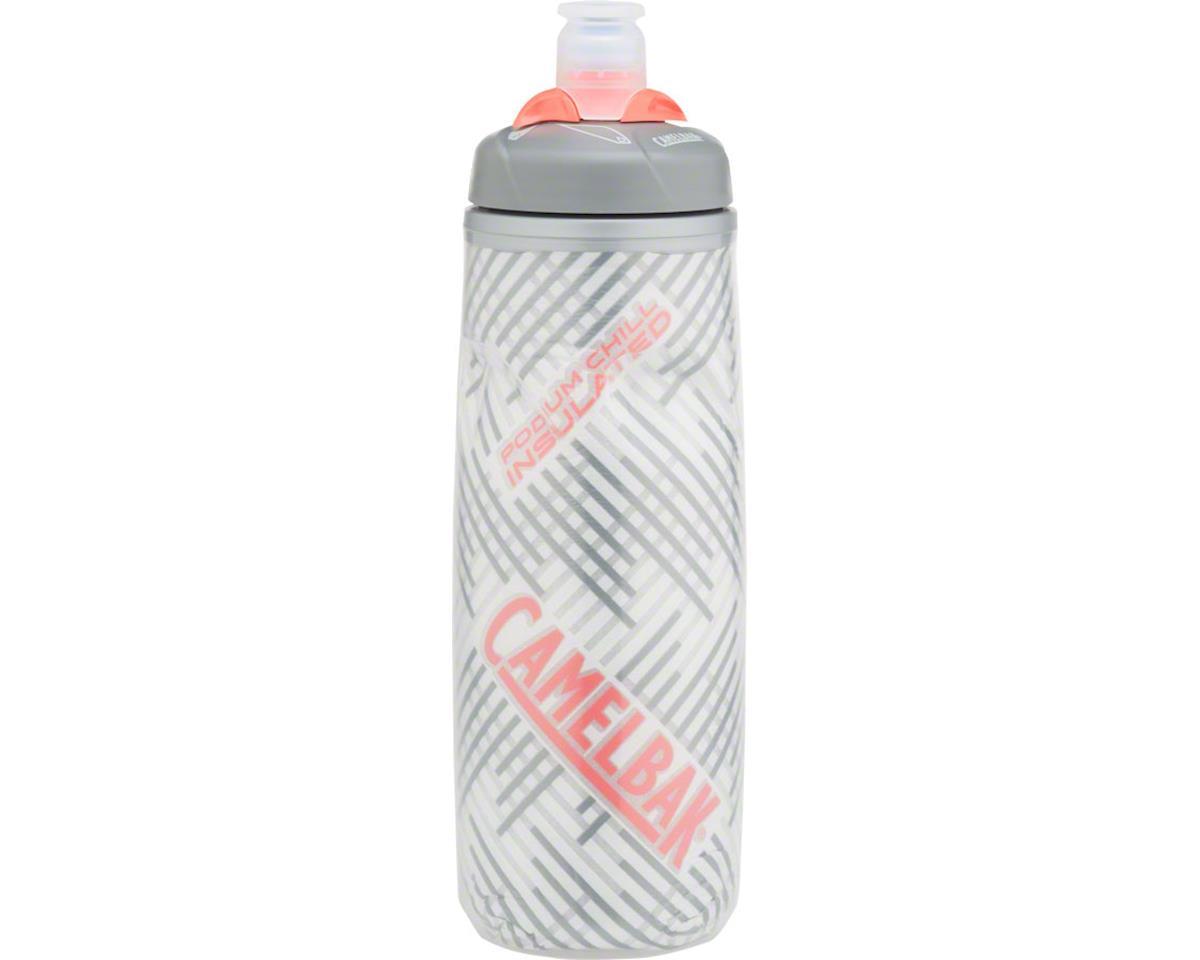 Podium Chill Water Bottle: 21 oz, Grapefruit