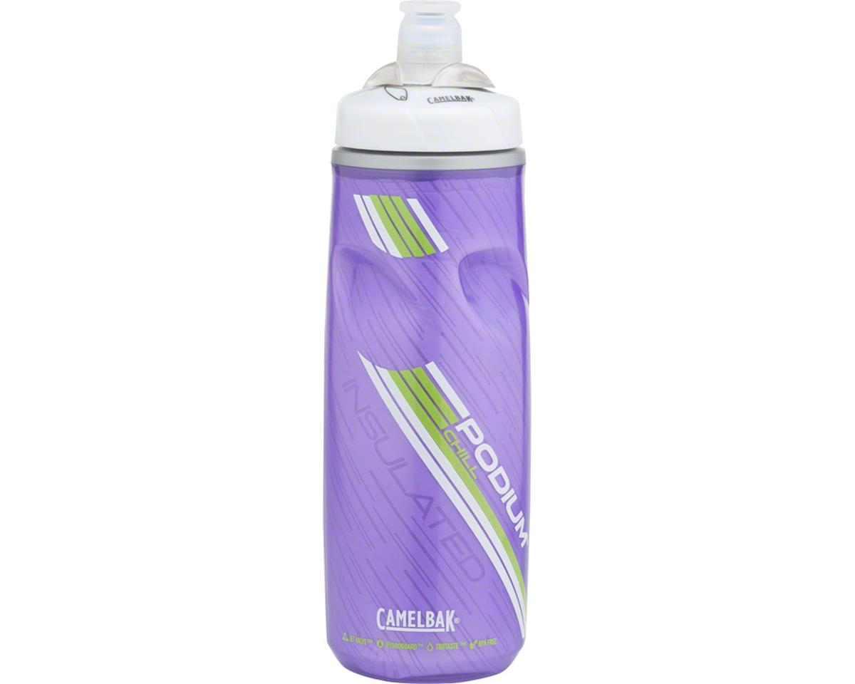 Podium Chill Water Bottle: 21 oz, Prime Purple