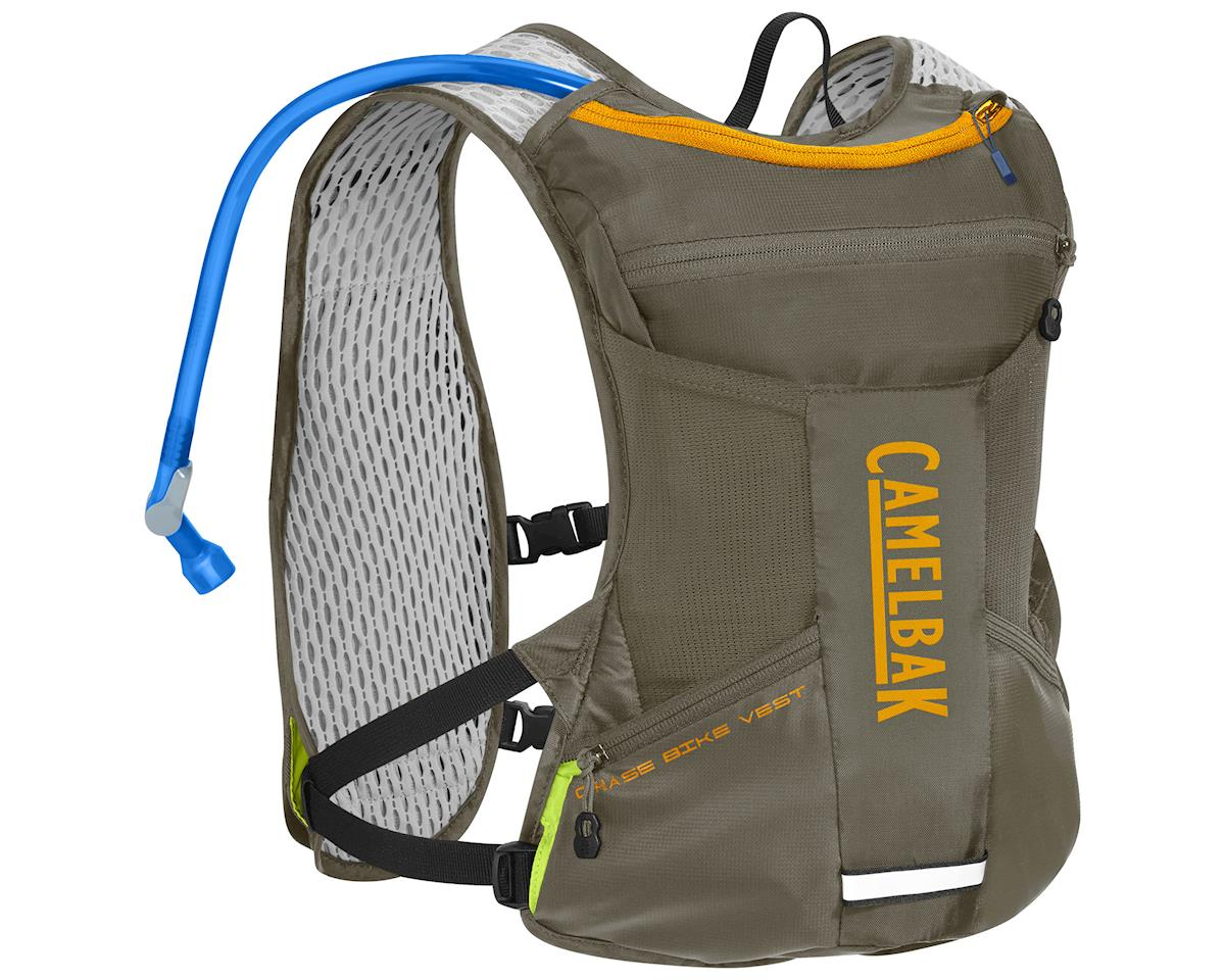 Camelbak Chase Bike Vest 50oz Hydration Pack (Shadow Grey/Iceland Poppy) | alsopurchased