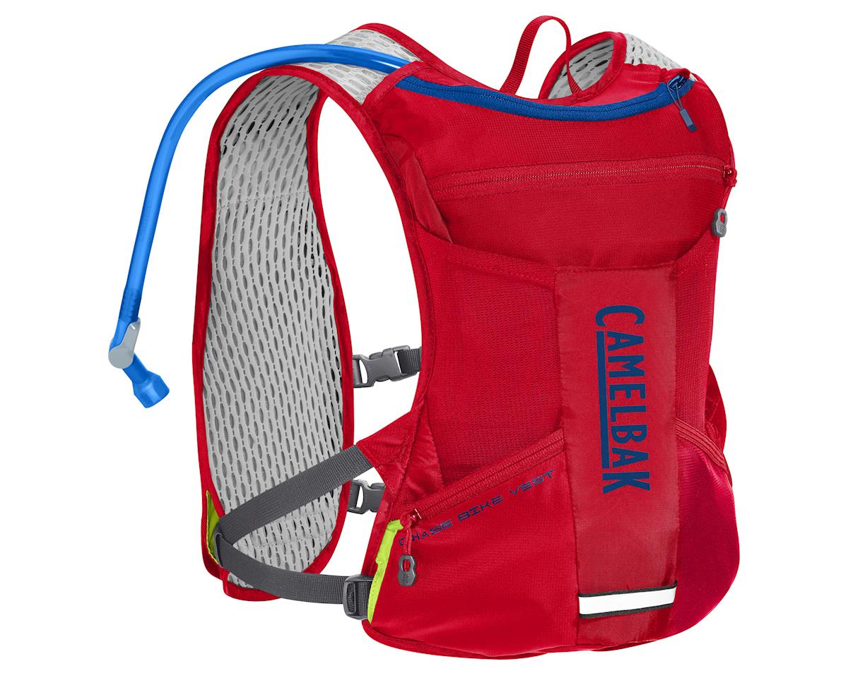 Camelbak Chase Bike Vest 50oz Hydration Pack (Racing Red/Pitch Blue)