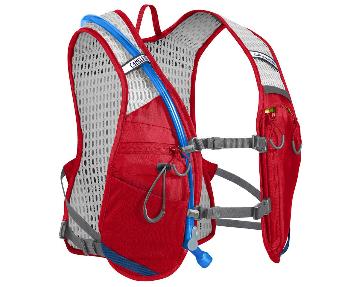 Image 2 for Camelbak Chase Bike Vest 50oz Hydration Pack (Racing Red/Pitch Blue)