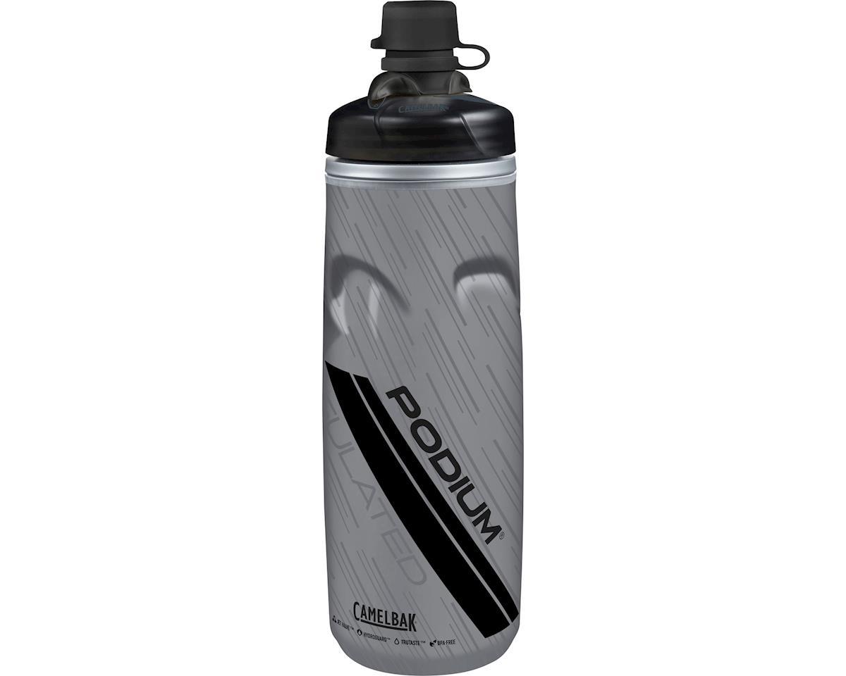 Camelbak Podium Chill Dirt Series Water Bottle: 21oz, Stealth