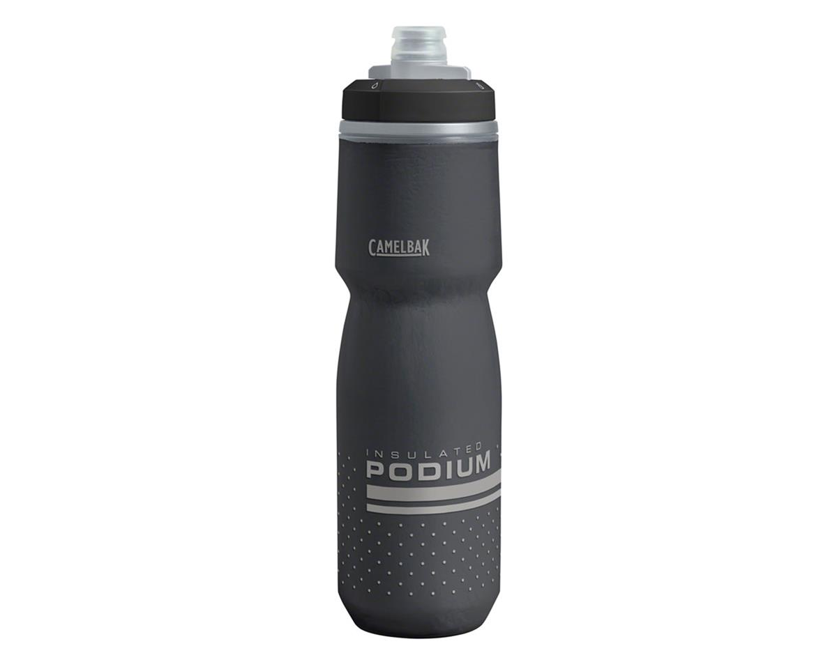 Camelbak Podium Chill Water Bottle (Black) (24oz)