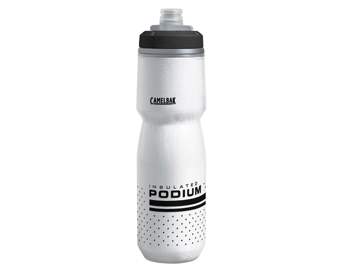 Camelbak Podium Chill Water Bottle (White/Black) (24oz)