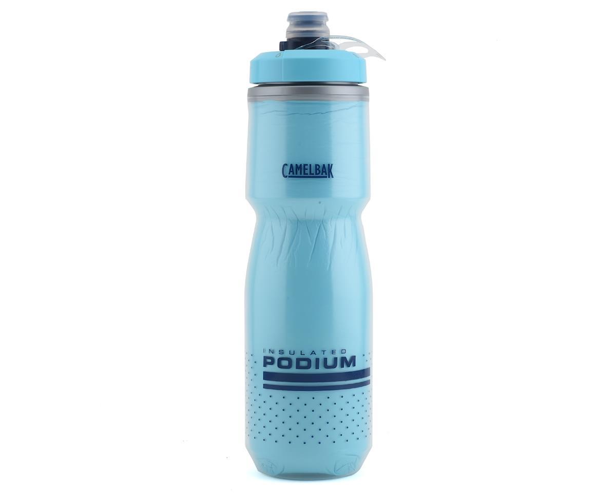 Camelbak Podium Chill Water Bottle (Lake Blue) (24oz)