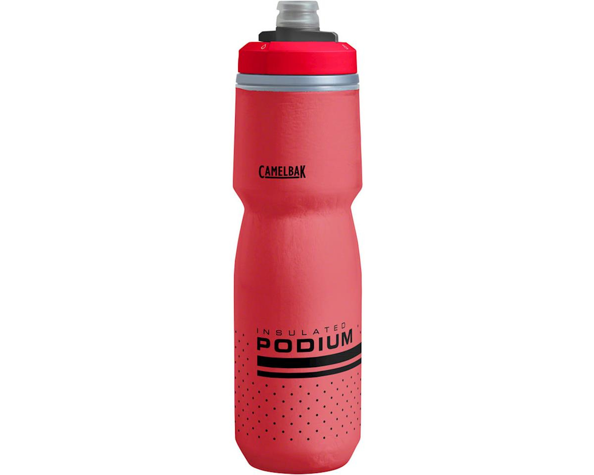 Camelbak Podium Chill Water Bottle (Fiery Red) (24oz)