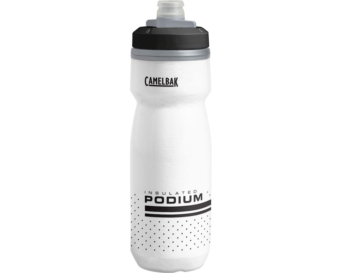 Camelbak Podium Chill Water Bottle (White/Black) (21oz)